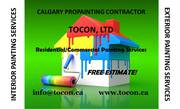 TOCON Calgary Cheap Fast Professional Quality Painting Services