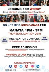 Kanata Job Fair - May 30th,  2019